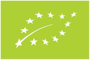green leaf of European organic certification