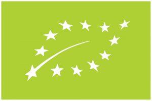 green leaf of European organic certification