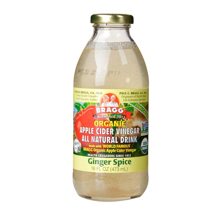 Bragg Organic Apple Cider Vinegar Ginger Spice Drink