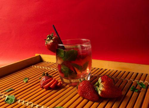 Strabwerry and Bragg ACV drink