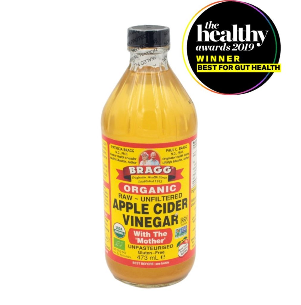 Bragg Apple Cider Vinegar with gut